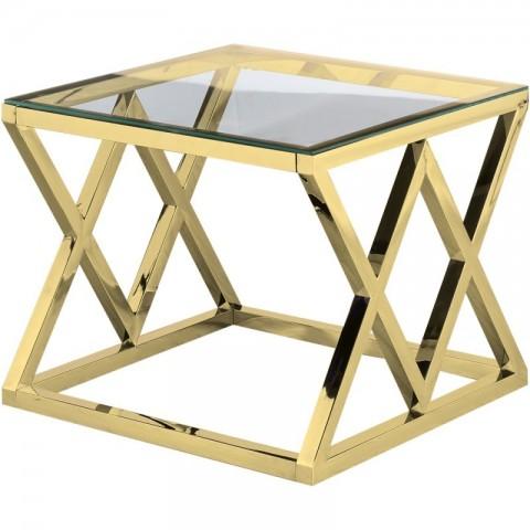 Artelore - Vanir Gold Finish odkládací stolek