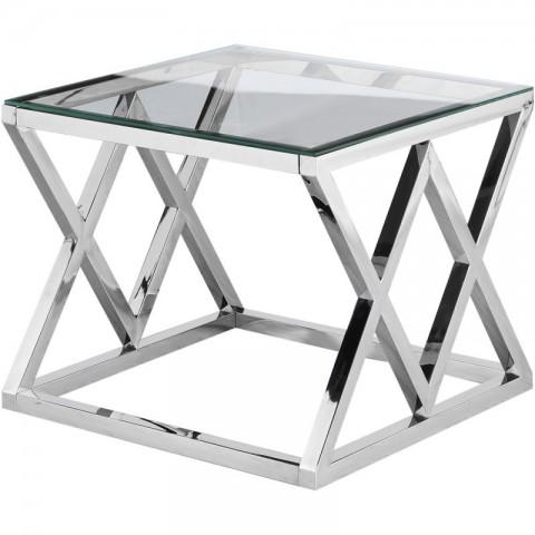 Artelore - Vanir Nickel Finish odkládací stolek