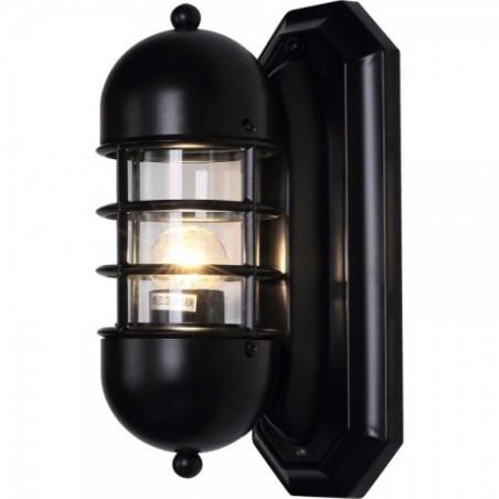 Essex Black nástěnná lampa