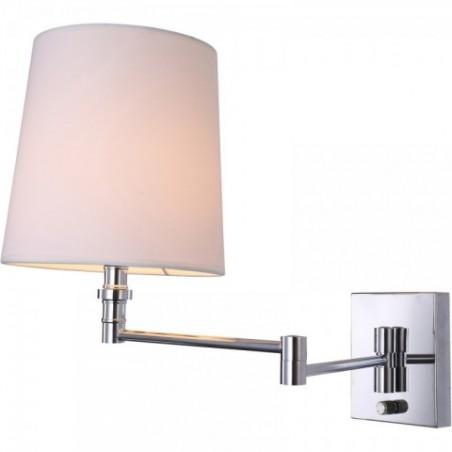 Amity Chrome nástěnná lampa