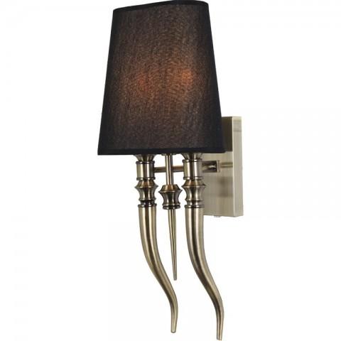 Artelore - Casio Brass S Black nástěnná lampa