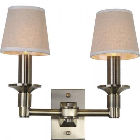 Artelore - Samara Brass Double nástěnná lampa