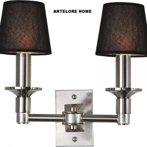 Artelore - Samara Nikel Double nástěnná lampa