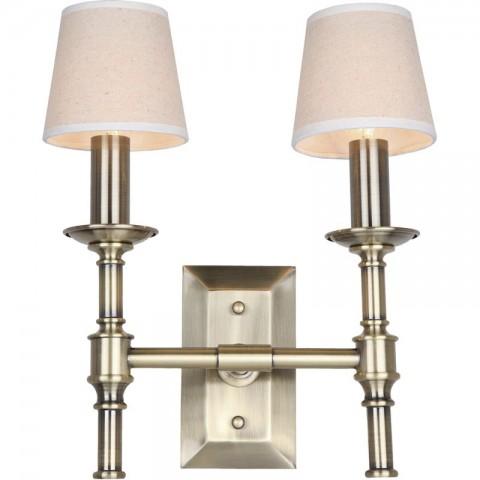 Artelore - Odesa Brass Double nástěnná lampa