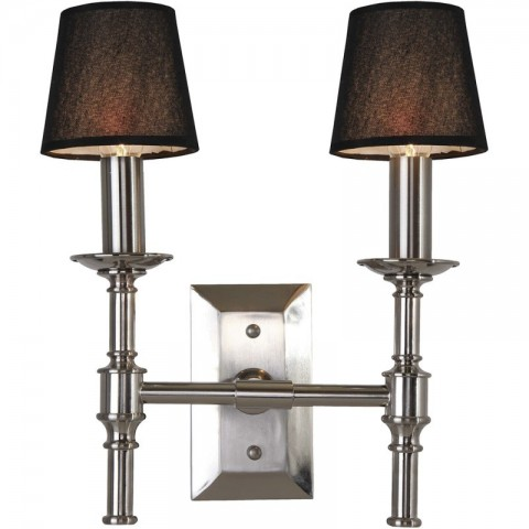 Artelore - Odesa Nikel Double nástěnná lampa