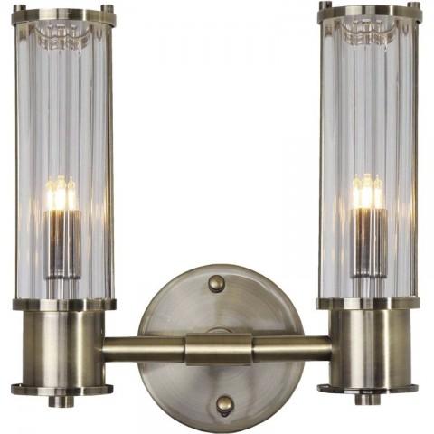 Artelore - Minsk Brass Double nástěnná lampa