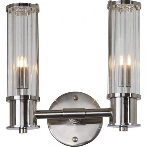 Artelore - Minsk Nikel Double nástěnná lampa