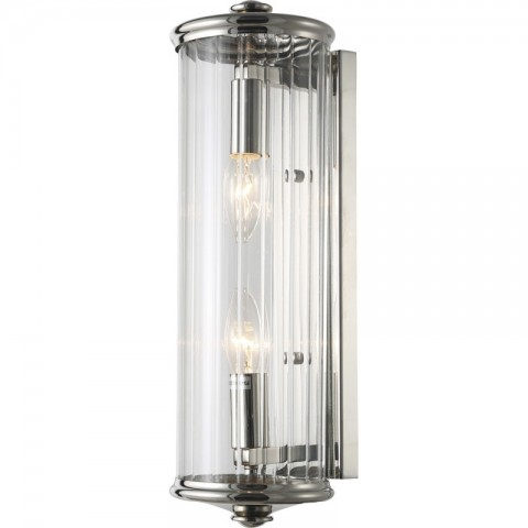 Artelore - Dion Nickel L nástěnná lampa