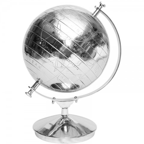 Artelore - Caruso Nickel Globe