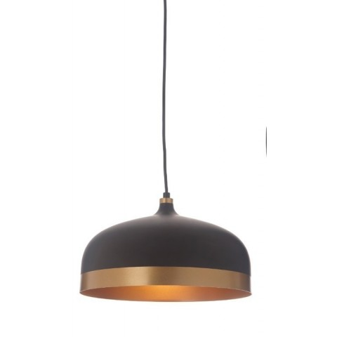 RV Astley - Trakai Pendant Lamp Black & Gold závěsné svítidlo