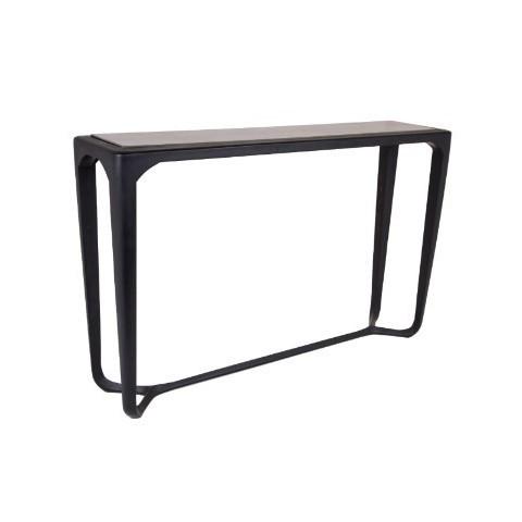 RV Astley - Moneen Black Shagreen konzolový stůl