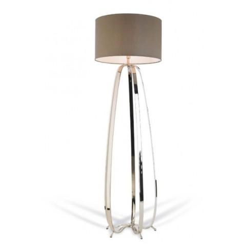 RV Astley - Abbot Nickel stojací lampa