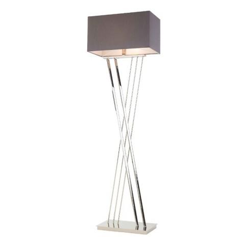 RV Astley - Roma Nickel stojací lampa