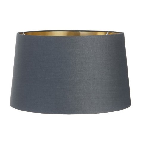 RV Astley - Charcoal Shade with Gold Lining 40cm stínidlo