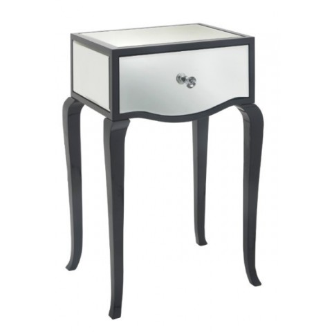 RV Astley - Carn Gloss Black odkládací stůl