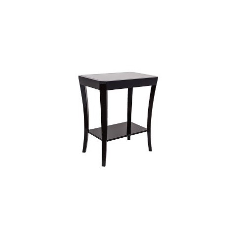 RV Astley - Hyde Black Glass odkládací stůl