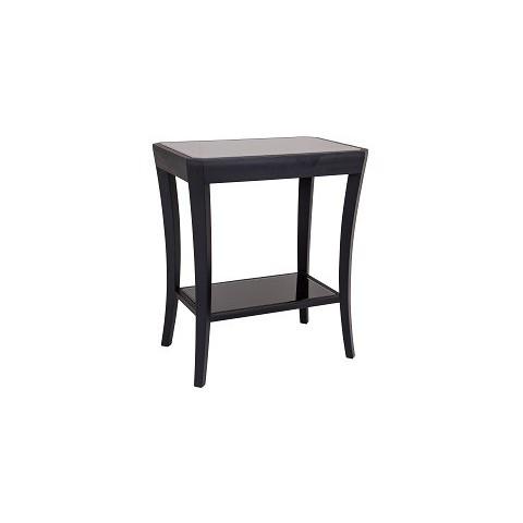 RV Astley - Hyde black shagreen odkládací stůl