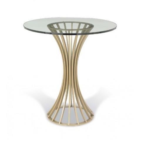 RV Astley - Lanza Satin Champagne odkládací stůl