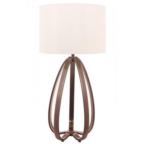 RV Astley - Abbot dark antique brass stolní lampa