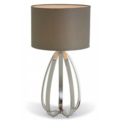 RV Astley - Abbot Nickel stolní lampa
