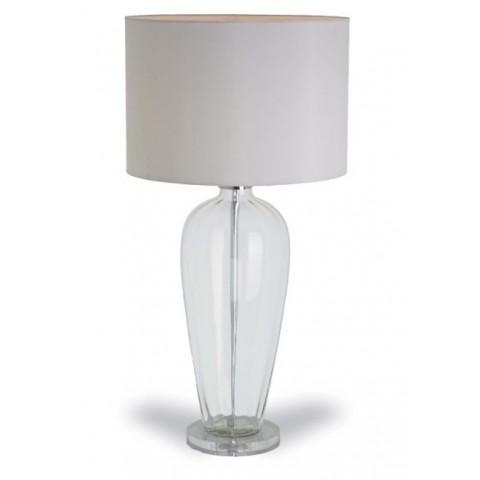 RV Astley - Abriana glass stolní lampa