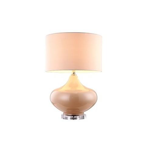 RV Astley - Ava white glass stolní lampa