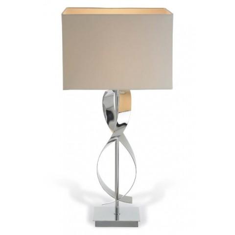 RV Astley - Bali Chrome Twist stolní lampa