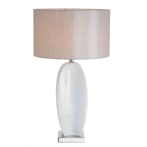 RV Astley - Birni White Ceramic stolní lampa