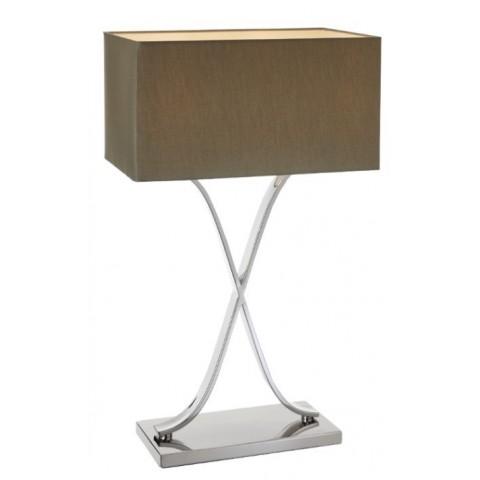 RV Astley - Byton Tall Nickel stolní lampa