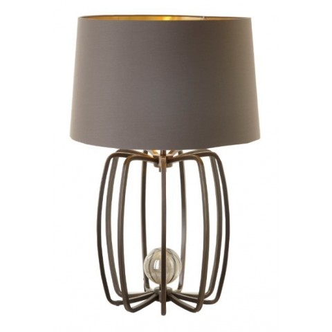 RV Astley - Cage Lamp Dark Antique stolní lampa