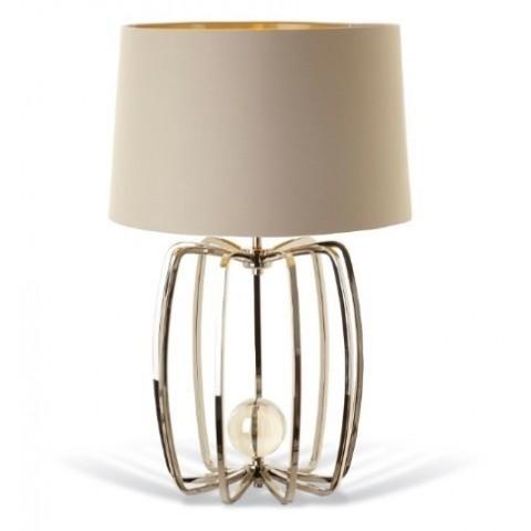 RV Astley - Cage Nickel stolní lampa