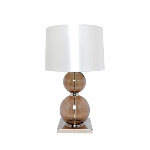 RV Astley - Cantal Smoke Glass Balls stolní lampa