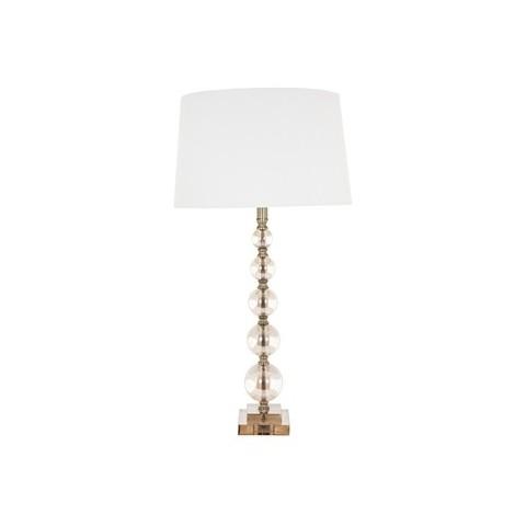 RV Astley - Cara Tall Cognac Glass Ball stolní lampa