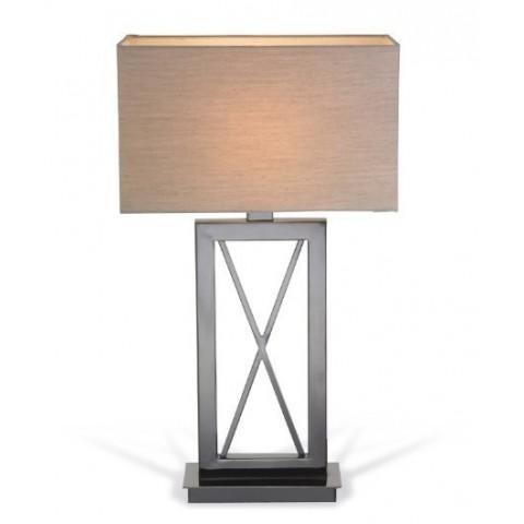 RV Astley - Cross Black Nickel stolní lampa