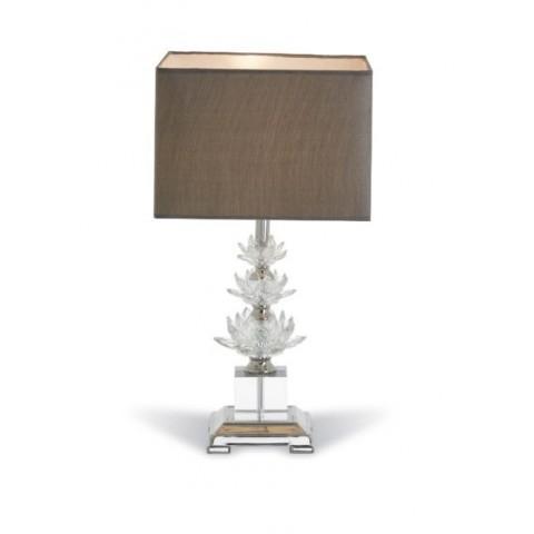 RV Astley - Crystal stolní lampa