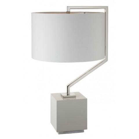 RV Astley - Cyclone Nickel stolní lampa