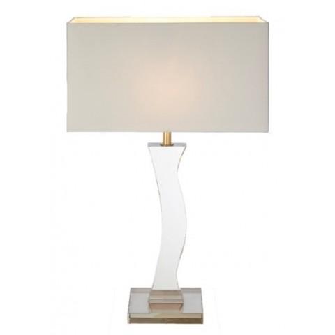 RV Astley - Ellis Cognac crystal stolní lampa
