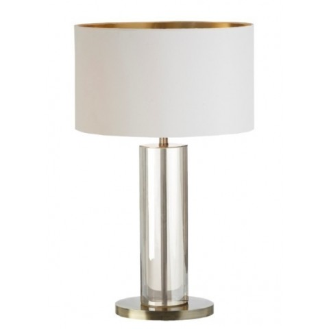 RV Astley - Favelle Tall Brass Table Lamp stolní lampa