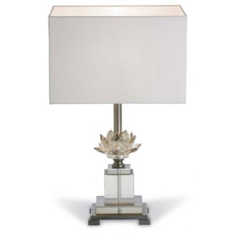 RV Astley - Fleur Cognac Glass Lotus stolní lampa