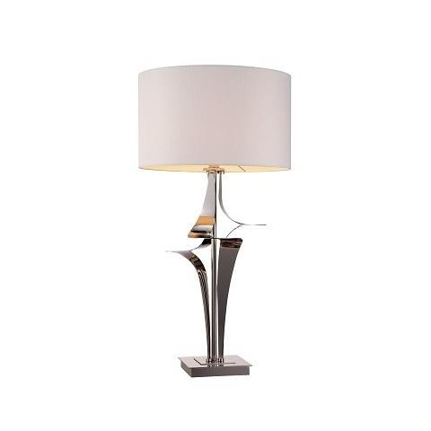 RV Astley - Gian nickel stolní lampa