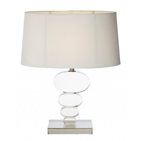 RV Astley - Gian Table Cognac Crystal stolní lampa