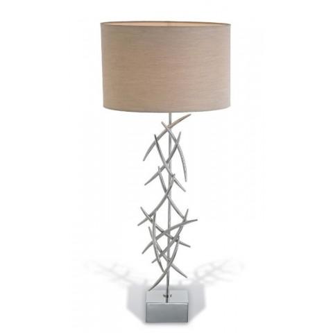 RV Astley - Halsey Chrome stolní lampa