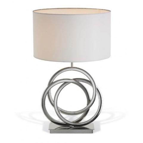 RV Astley - Harlan Nickel stolní lampa