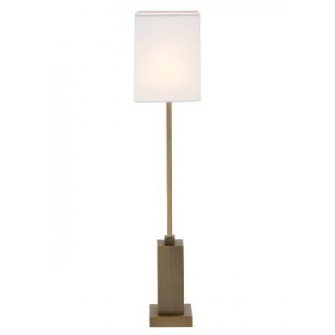 RV Astley - Herta Antique Brass stolní lampa