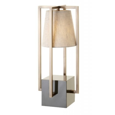 RV Astley - Hurricane Grey Olive stolní lampa