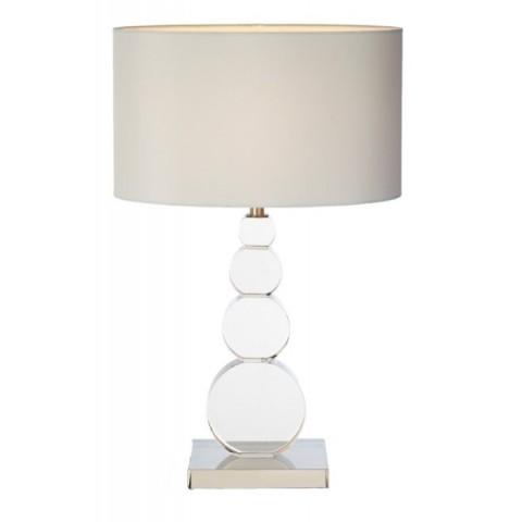 RV Astley - Kai Cognac and Antique Brass stolní lampa