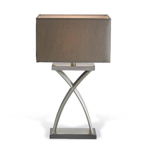 RV Astley - Karla nickel stolní lampa