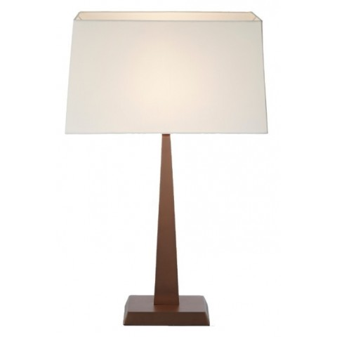RV Astley - Kendra Brushed Rose Gold stolní lampa