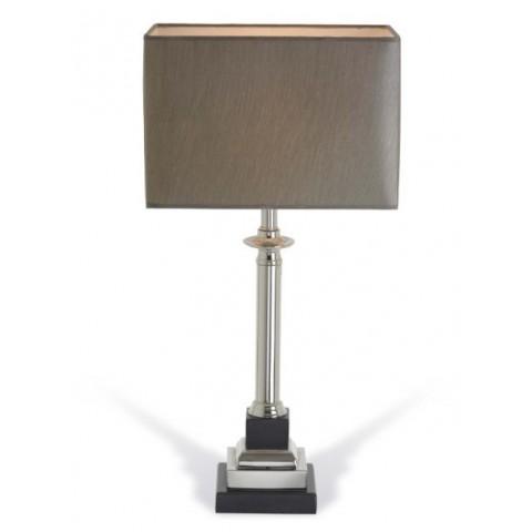 RV Astley - Krista Marble Effect Nickel stolní lampa