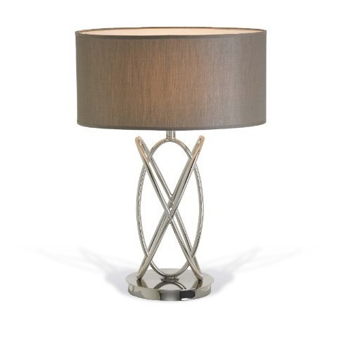 RV Astley - Lina nickel stolní lampa